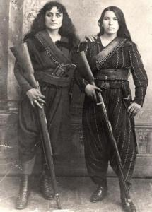 Female Armenian guerrilla fighters, 1895