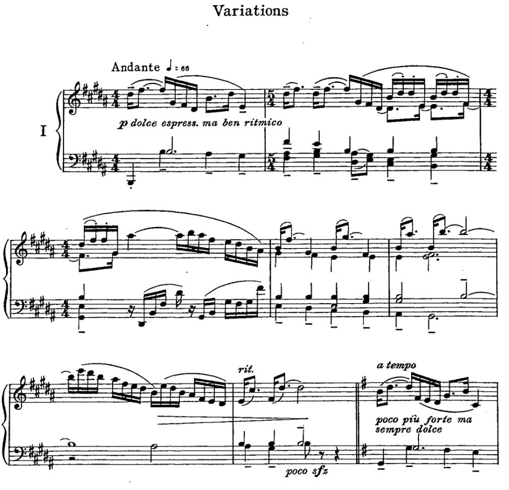 Fine Variations 1