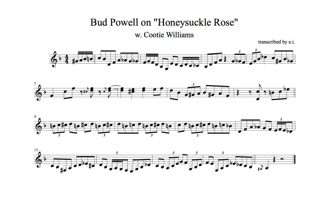 Bud Honeysuckle