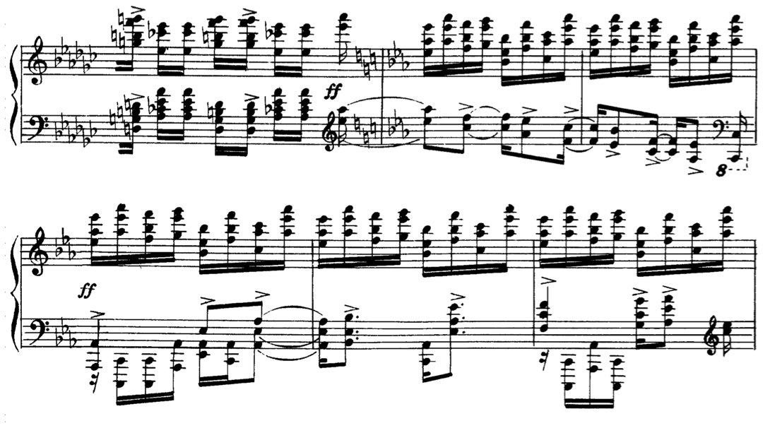 Rachmaninov Etudes Tableaux Analysis Essay - image 4
