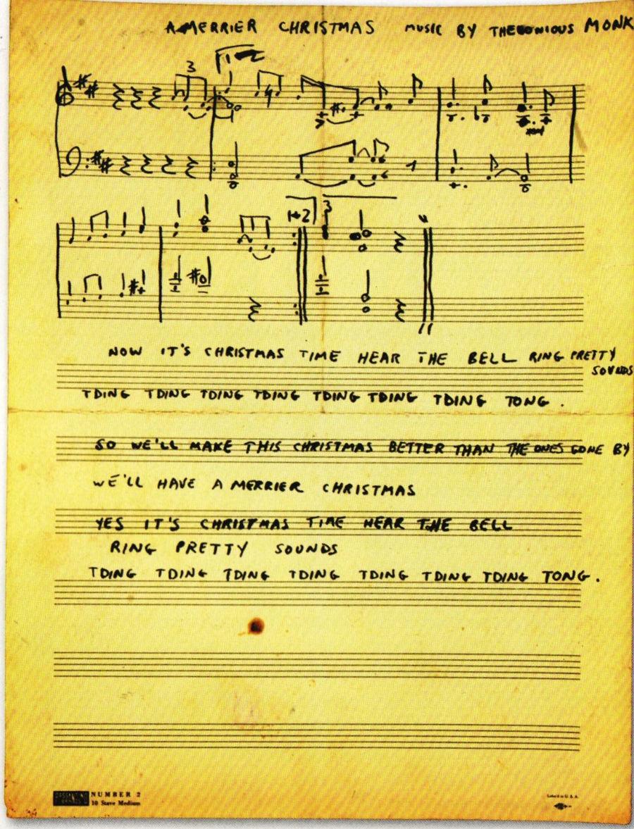 Monk Xmas song